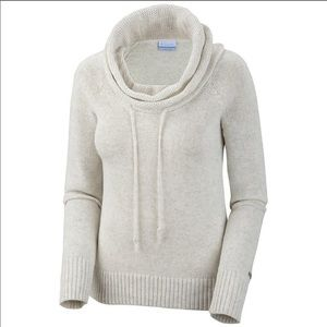 Columbia Alpine Grey cowl neck pullover